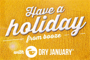 Dry January: Public Health England is encouraging social drinkers to give up alcohol for a month