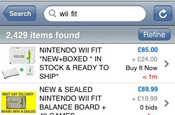 eBay adapts mobile service for iPhone