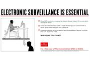 The Economist: launches ads debating spying, fracking and EU membership