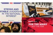 Election slogans reveal there's only one party trying to win a majority