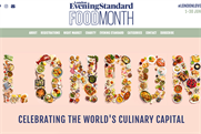 Evening Standard launches month-long food festival