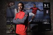 Memphis Depay: at an event promoting his involvement with Under Armour