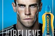 Gareth Bale: fronts Lucozade 'I believe' campaign