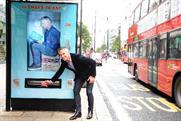 Gary Lineker: promotes Walkers' bus stop-based interactive vending machines