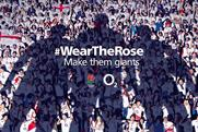 O2's Rugby World Cup campaign calls on people to 'wear the rose'