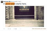 Guinness: Twitter account comes under scrutiny