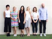 Socialyse (L-R): Crook, Rowntree, Jenna Walker, Kat Harding, Harriet Reynolds, and Speller