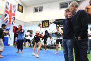 Reebok: president Matt O'Toole and ex-boxer Luke Dowdney team up
