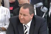 Mike Ashley: the Sports Direct founder was grilled by MPs over the brand's employment practices