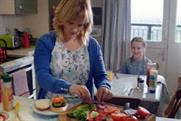 Morrisons ad: depicted a mother preparing her daughter's burger