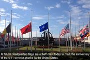 Nato: posts a picture commemorating those who died on 9/11