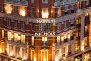 Harvey Nichols: the retailer's landmark Knightsbridge store