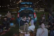 Nissan: a screen shot of the new US ad for the Versa Note