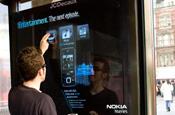 Nokia outdoor advertising