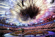 Olympic Games: fireworks at London 2012