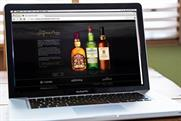 Pernod Ricard: launches microsite to enable consumers to personalise whisky bottle