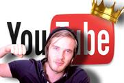 PewDiePie: responsible in part for the growth of viewers on YouTube