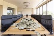 A pile of cash and empty boardroom: Newcastle Brown Ale's tongue-in-cheek summer campaign