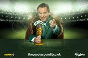 Jeff Stelling: fronts The People's Pundit campaign for Carlsberg and talkSport
