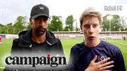 Campaign TV: Brave Bison helps launch Rebel FC with Rio Ferdinand and YouTuber Calfreezy