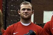Wayne Rooney...star of Fifa 09 PlayStation ad