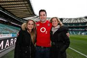 Brad Barritt: appears in Marriott digital campaign