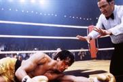 'Rocky II': one of the images being used to convince men they can be '#DownNotOut'
