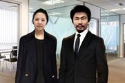 We Are Social, Shanghai: Ying Chang, creative director and Pete Lin, managing director in Shanghai