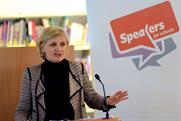 Cilla Snowball: the group chairman and chief executive of  AMVBBDO at a Speakers for Schools event