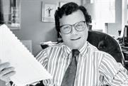 Sorrell: photographed in 1988, between WPP's acquisitions of JWT and Ogilvy