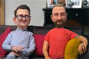 Gogglebox: Stephen and Chris are transformed into stop-motion characters