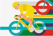 The Transport for London campaign raises awareness of the Tour de France