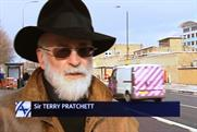 Sir Terry Pratchett: features in the Alzheimer's Research UK ad