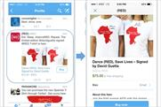 Twitter: rolled out 'buy now' trial in the US last month