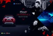 Fiat: teamed up with Dynamo to create interactive illusion
