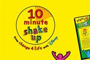 Disney and Change4Life: team up to encourage children to be more active