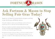 PETA exploits changes to copyright law in swoop on Fortnum & Mason