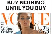 Vogue publisher hits out at 'glib and reckless' critics of print