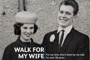 The Alzheimer's Society: latest activity for Memory Walk campaign