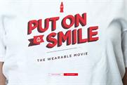 Coca-Cola gets people to 'put on a smile' for its wearable movie