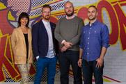 Wunderman hires: (from left) Lezaan Roos, Andrew Thomas, Paul Harvey and Michael Maxwell