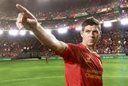 Liverpool and England footballer Steven Gerrard
