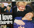 Soap arrest: Daily Mirror shows Mike's dramatic end