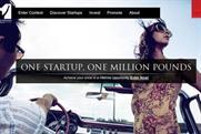 One Million Pound Startup: Ketchum briefed