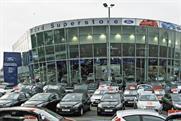 Ford Retail: Edgeware dealership
