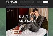 Topman: Wants to change the way it engages with customers online