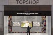 The #Topshopwindow, a digital mosaic for London Fashion Week