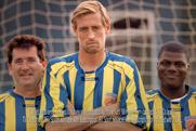 Peter Crouch: footballer in ad promoting the availability of BT Sport on  Virgin Media