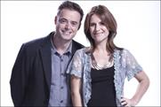 Heart FM: breakfast show presenters Jamie Theakston and Harriet Scott