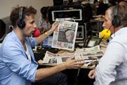 Richard Bacon and The Indie's Simon Kelner go live